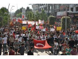 Boluda Üniversitelilerden Taksim Protestosu