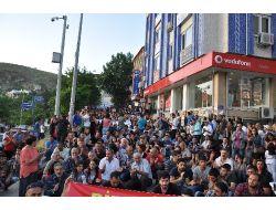 Tuncelide Binlerce Kişi Gezi Parkı Protestosu İçin Sokaklara Döküldü