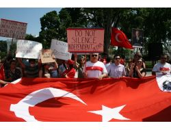 Washingtonda Gezi Parkı Protestosu