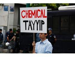 Atinada Taksim Gezi Parkı Protestosu