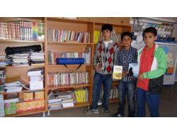 Minik Yürekler Köy Okullarına İkinci Kütüphaneyi Kurdu