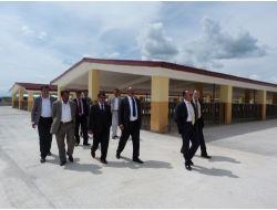 Ağrı'da Belediye Başkanları Çalışma Alanlarını Gezdi