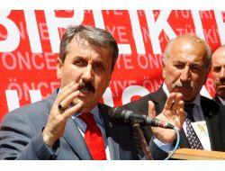 Destici: Türkiye'nin Asıl Gündemleri Yerine Suni Gündemler Oluşturuluyor