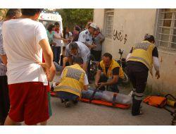Kadirlide Trafik Kazası: 2 Yaralı