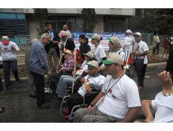 Üç Ülkenin Bedensel Engellileri Olimpik Günde Bir Araya Geldi