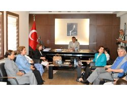 Kadın Erkek Fırsat Eşitliği Komisyonu Üyeleri Midyatta