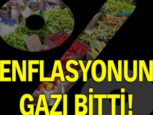 Enflasyonun gazı bitti!!