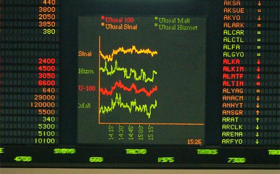 Borsada Sert Düşüş