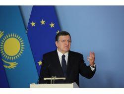 Kazakistan Ve Ab Arasında İşbirliği Anlaşması