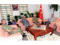 Komutanlardan Vali Kıraç'a 'hoş Geldin' Ziyareti