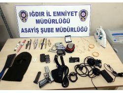 Iğdır'da Hırsızlık Yapan Şahıs Suçüstü Yakalandı