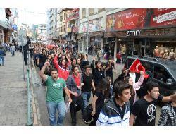 Zonguldak'ta Lise Öğrencilerinin Eylemine Tepki