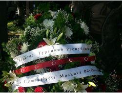 Türkiyenin Moskova Büyükelçiliği'nden Nazım'a Ziyaret
