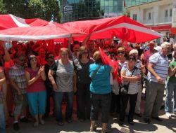 Edremitte Gezi Parkı Eylemi