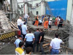 Samsunda 2 İşçi Fabrika İnşaatı Sırasında Göçük Altında Kaldı