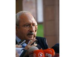Kılıçdaroğlu: Kamu Malına Zarar Veren Bir Eylemi Tasvip Etmiyoruz