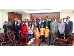 Tema Vakfı Üyeleri, Muş Valisi Büyükersoy'u Ziyaret Etti