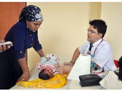 Gönüllü Doktorlar, Sınıra Sıfır Noktadaki Vatandaşların Yardımına Yetişti