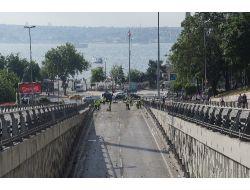 Olaylar Yatıştı Belediye Ekipleri Temizliği Başladı