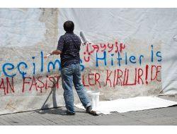 Taksim Esnafı Şiddet Mağduru