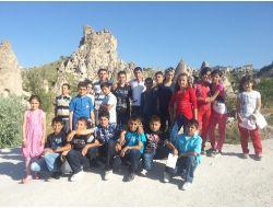 Köy Okulu Öğrencileri Nevşehir'i Gezdi