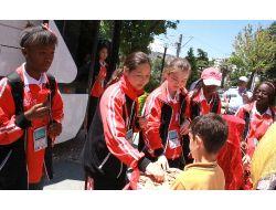 Türkçe Sevdalısı Çocuklar Samsunlularla Buluşuyor