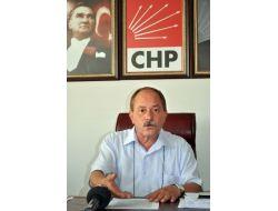 Chp İl Başkanı Mavuk: Bu Süreçte Herkes Sağduyulu Olmalı
