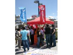 Kesk, Sivas'ta Greve Başladı