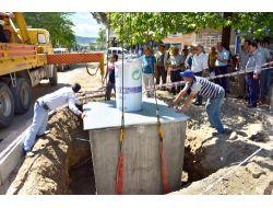 Çanakkalede Yer Altı Çöp Konteyner Sistemi Kuruluyor