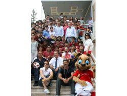 Tff, Antalyadaki Liselerde Fıfa U20 Dünya Kupası Tanıtımı Yaptı