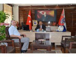 Tpao Bölge Müdürü Demir'den, Emniyet Müdürü Salmaner'e Ziyaret