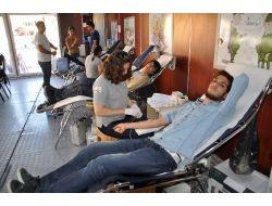 Kızılay'ın Yozgat'ta Kan Bağışı Kampanyası Devam Ediyor