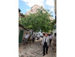 Afyonkarahisar'da Sit Alanındaki Mahallere Kanalizasyon Yapılıyor