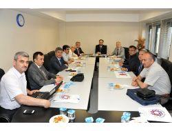 Bölge İlahiyat Fakülteleri Dekanları Omü'de Toplandı