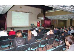 Güroymak'ta Hijyenik Eğitim Semineri Verildi