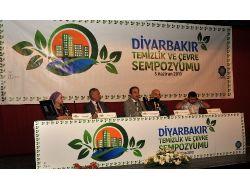 Diyarbakırda Çevre Sempozyumu Düzenlendi