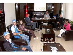 Türkçenin Çocukları Çarşamba İlçesinde Veda Ziyaretinde Bulundu