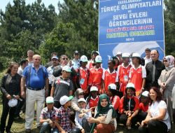 Olimpiyat Çocukları Ağaç Dikti