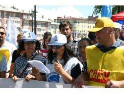 Kesk, Sivas'ta İş Bırakma Eylemi Yaptı