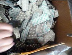 Türkiye'den Getirilen Ayakkabı Kolilerinde Uyuşturucu Hap Çıktı