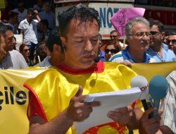 Kahramanmaraşta Gezi Parkındaki Olaylar Protesto Edildi