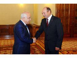 Cemil Çiçek, Romanya Cumhurbaşkanı Traian Basescu İle Görüştü