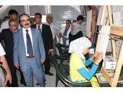 Vali Coş, Suriyeli Sığınmacıların Barındığı Çadır Kenti Ziyaret Etti