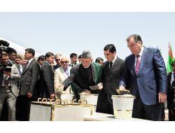 Türkmenistan-Afganistan-Tacikistan Demiryolu Temeli Atıldı