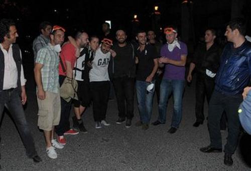 Gezi Parkına MEGA destek