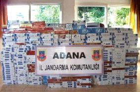 Trende 50 bin paket kaçak sigara