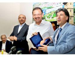 Başkan Özhaseki, Kayserideki Yozgatlılarla Buluştu