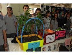 Orhangazide Bilim Şenliği Sergisi Açıldı