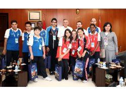 Türkçenin Çocukları Güzelbey'i Ziyaret Etti