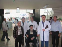 Hekimoğlu İsmail, Erzurum Şifa Hastanesini Ziyaret Etti